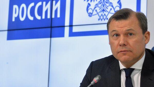 Генеральный директор ФГУП Почта России Дмитрий Страшнов. Архивное фото