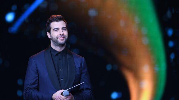 Ведущий Иван Ургант на XXI Церемонии вручения национальной музыкальной премии Золотой Граммофон