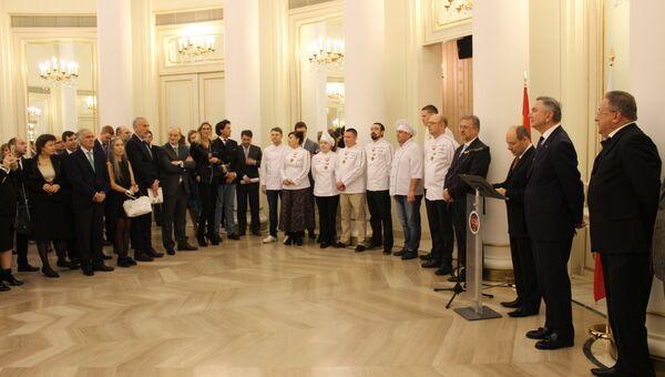 Открытие Российской гастрономической недели в Испании