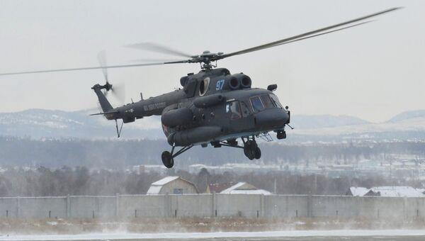Арктический вертолет Ми-8АМТШ-ВА. Архивное фото