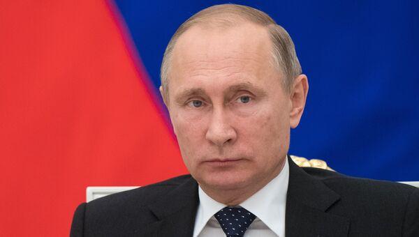 Владимир Путин на заседании Совета по науке и образованию в Кремле. 23 ноября 2016