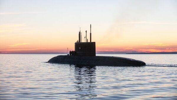 Подводная лодка проекта 636.3 Колпино. Архивное фото