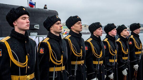 Моряки-подводники. Архивное фото