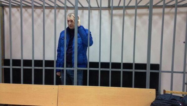 Роман Курзенков в зале суда