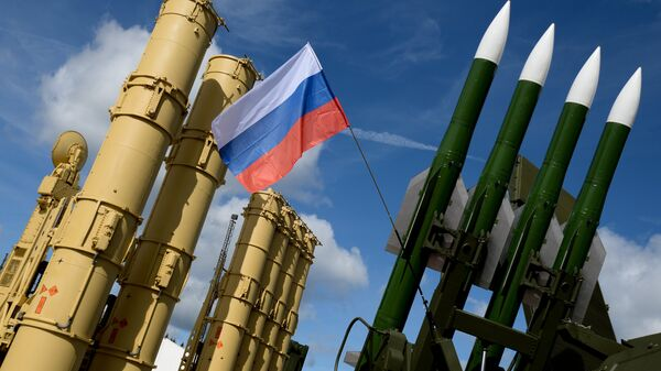 Зенитные ракетные системы концерна Алмаз-Антей на Международном военно-техническом форуме АРМИЯ-2016