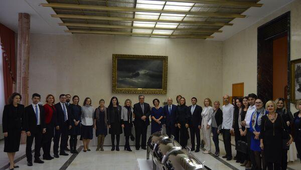 Встреча выпускников советских и российских вузов в Анкаре