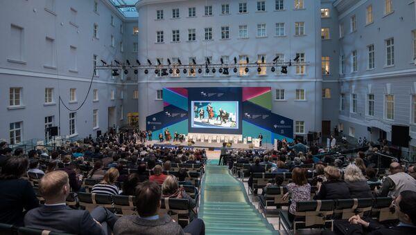 Церемония открытия Международного культурного форума в Санкт-Петербурге. 1 декабря 2016