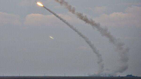 Ракетные учения вооруженных сил Украины близ Крыма