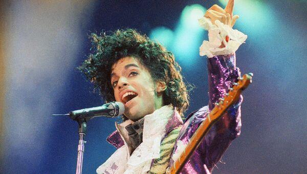 Американский певец Принс. Архивное фото