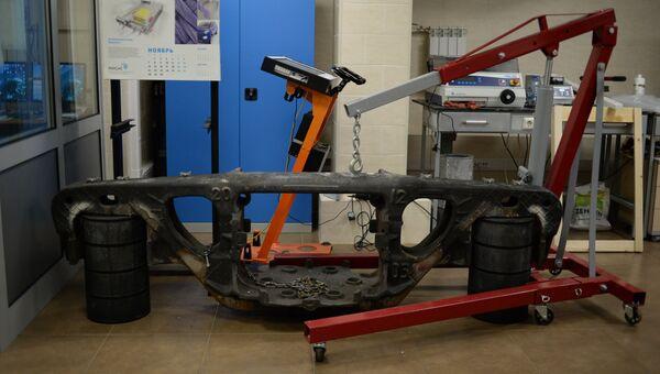 Разработан новый способ термической обработки стальных литых элементов тележки железнодорожного вагона