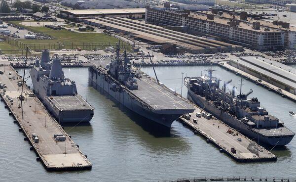 Универсальный десантный корабль Wasp ВМС США