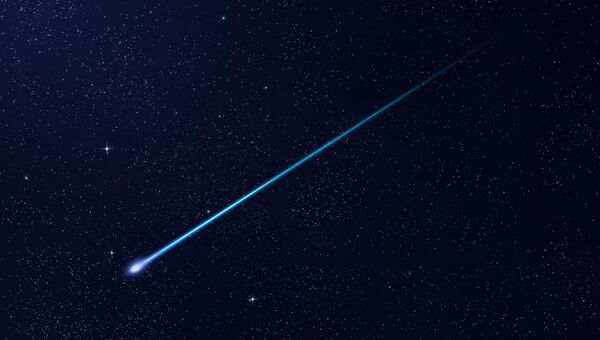 Метеорит. Архивное фото