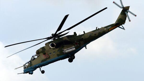 Вертолет Ми-35. Архивное фото