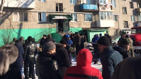 Взрыв бытового газа в городе Советская Гавань