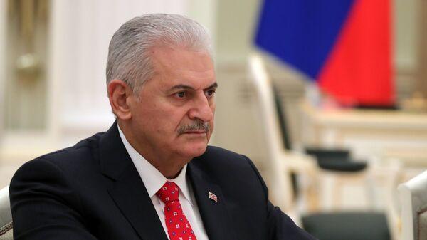 Спикер турецкого парламента Йылдырым объявил об отставке