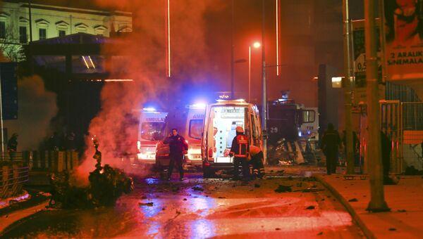 Взрыв в стамбульском районе Бешикташ