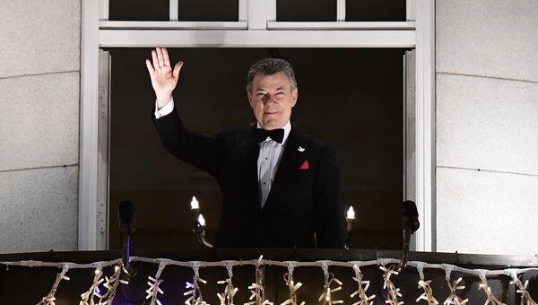 Бывший президент Колумбии Хуан Мануэль Сантос. Архивное фото