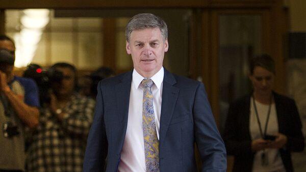 Премьер-министр Новой Зеландии Билл Инглиш. Архивное фото