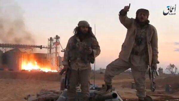 Боевики террористической группировки Исламское государство (ИГ, запрещена в России) в районе Пальмиры