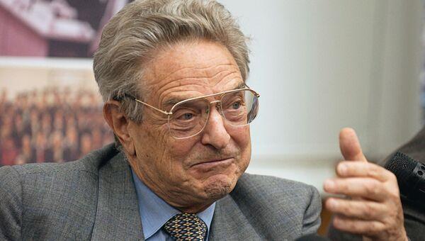 Американский предприниматель и филантроп Джордж Сорос в Москве. Архивное фото