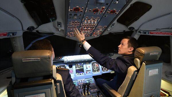 Конкурс пилотирования пассажирского самолета Sukhoi Superjet 100