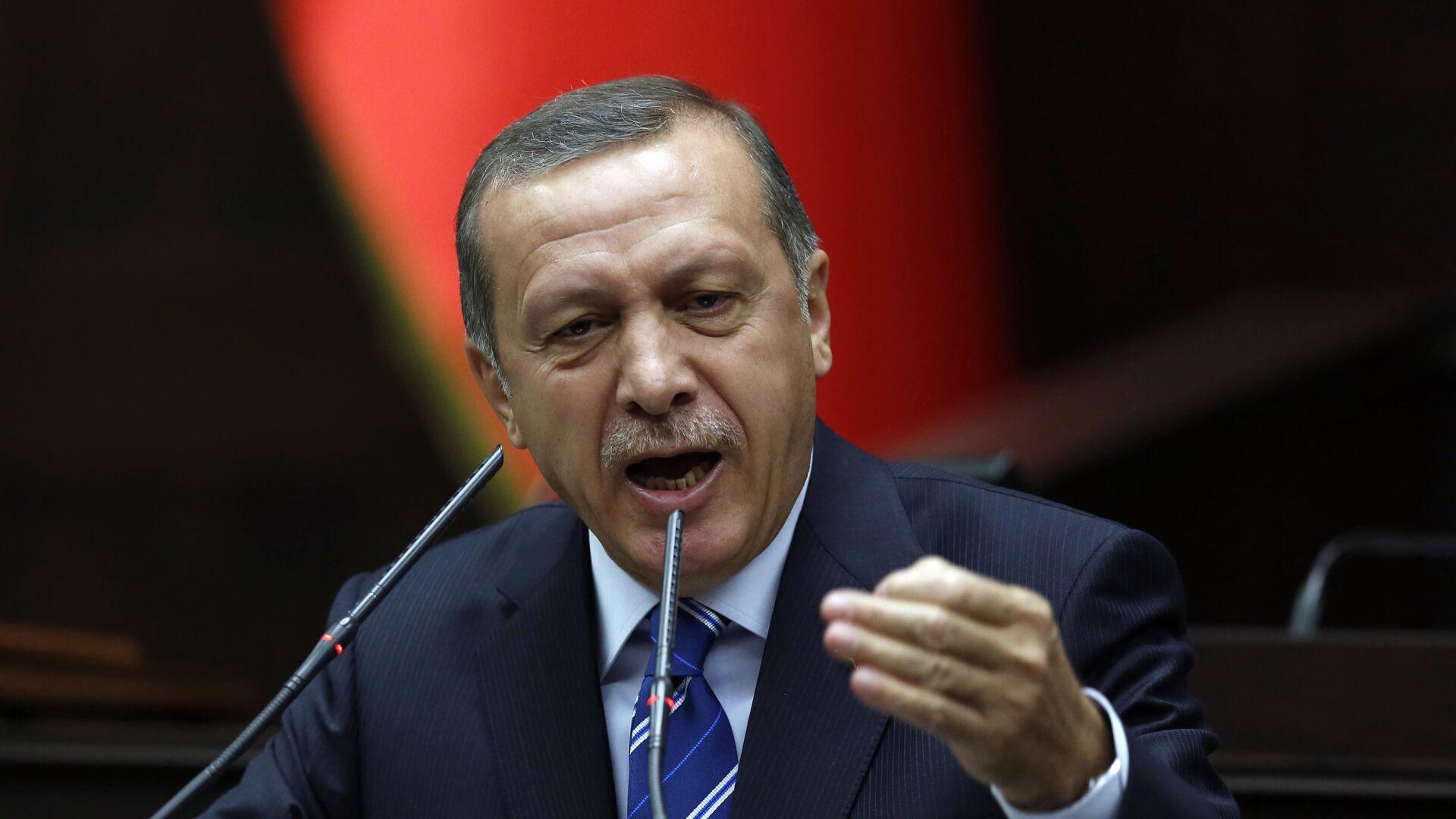 Премьер-министр Турции Реджеп Тайип Эрдоган - РИА Новости, 1920, 14.11.2019