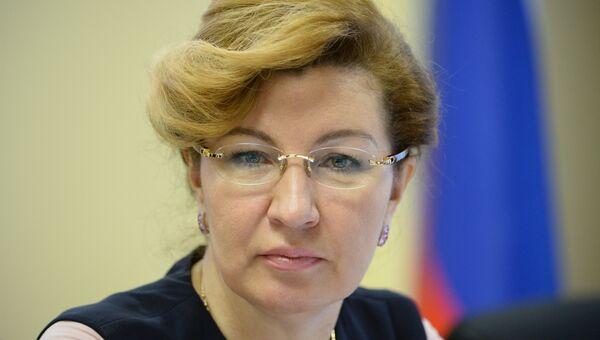 Председатель Федерального фонда обязательного медицинского страхования (ОМС) Наталья Стадченко