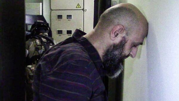 Задержанный член диверсионно-террористической группы, обезвреженной ФСБ РФ в Москве