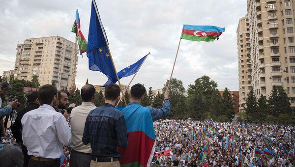 Митинг оппозиции в Баку. Архивное фото