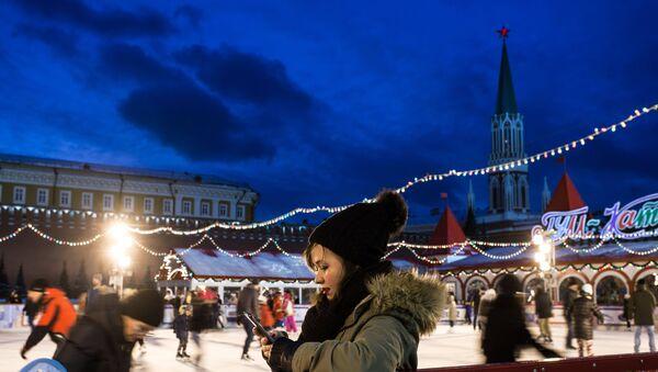 ГУМ-Каток на Красной площади в Москве. Архивное фото