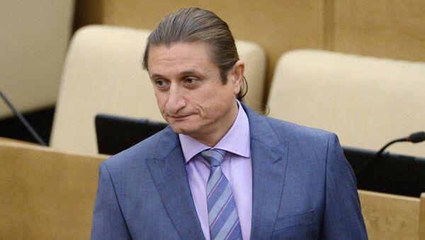 Член комитета Госдумы РФ по бюджету и налогам Сергей Чижов. Архивное фото