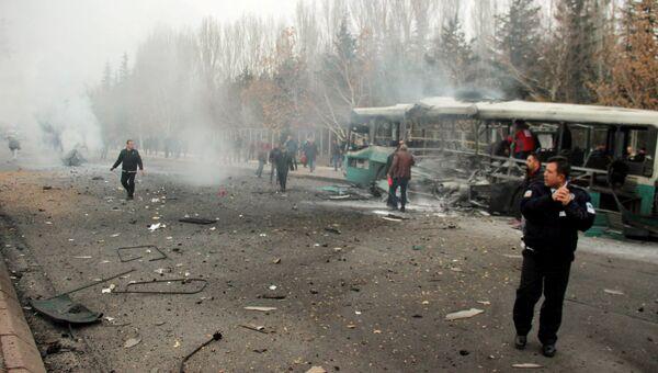 Взрыв в Кайсери, Турция 17.12.2016