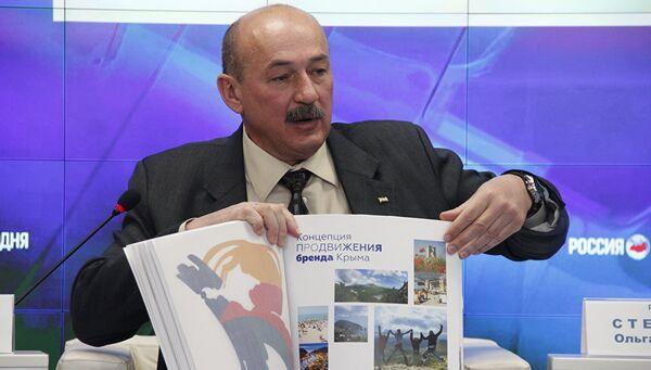 Министр курортов и туризма Крыма Сергей Стрельбицкий. Архивное фото