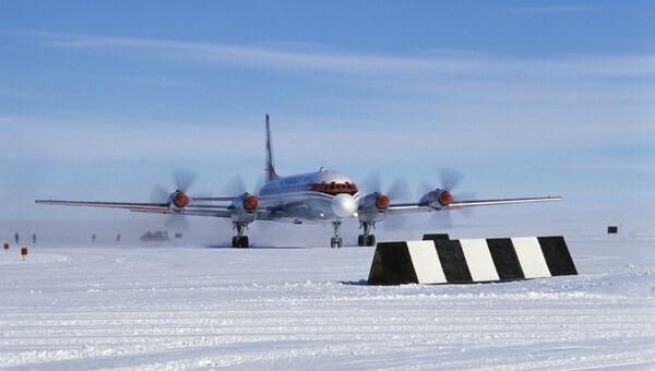Самолет ИЛ-18. Архивное фото