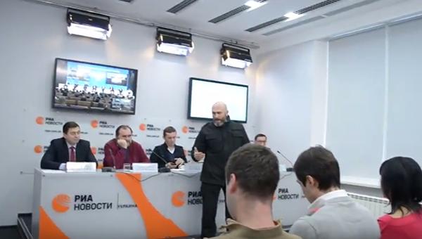 Ситуация в пресс-центре РИА Новости Украина. 19 декабря 2016