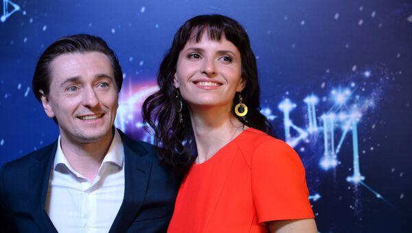 Актер Сергей Безруков и режиссер Анна Матисон. Архивное фото