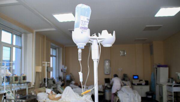 Реанимация Иркутской городской клинической больницы. Архивное фото