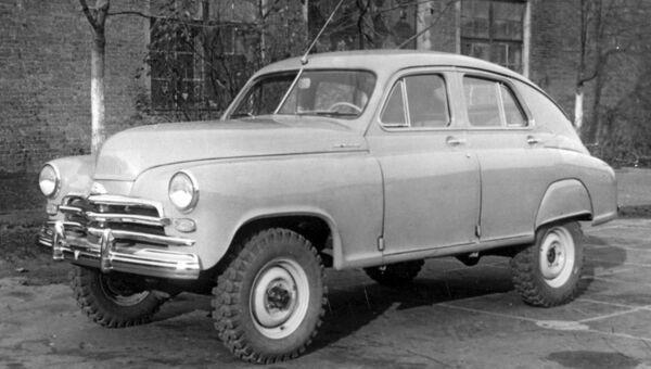 Легковой автомобиль высокой проходимости ГАЗ-М-72
