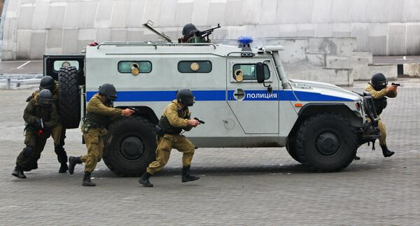 Российский многоцелевой автомобиль повышенной проходимости ГАЗ-2330 Тигр