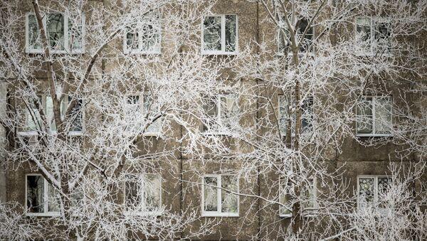 Аномальные морозы в Омске. Архивное фото