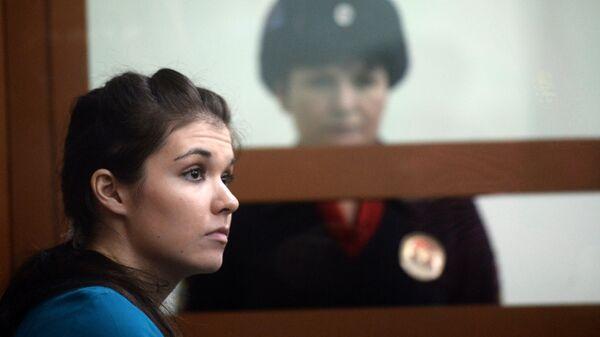 Варвара Караулова в Московском окружном военном суде