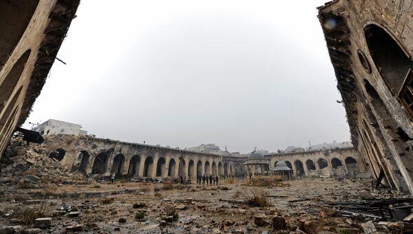 Мечеть Омейядов в Старом Алеппо