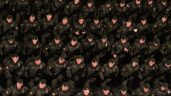Военнослужащие российской армии