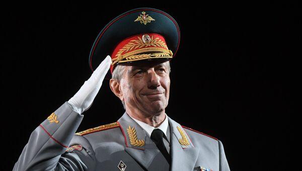 Главный военный дирижер вооруженных сил РФ Валерий Халилов. Архивное фото