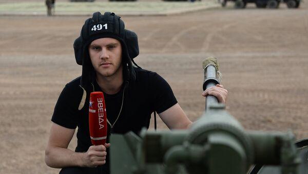 Журналист телеканала Звезда Павел Обухов, погибший при крушении самолёта Ту-154 в Сочи. Архивное фото