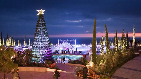 Празднование Нового года в Крыму