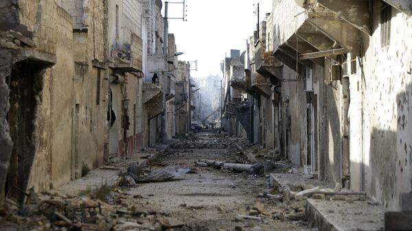 Улица в городе Эль-Баб, Сирия. Архивное фото