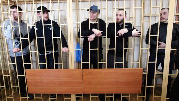 Оглашение приговора по делу приморских партизан. Архивное фото