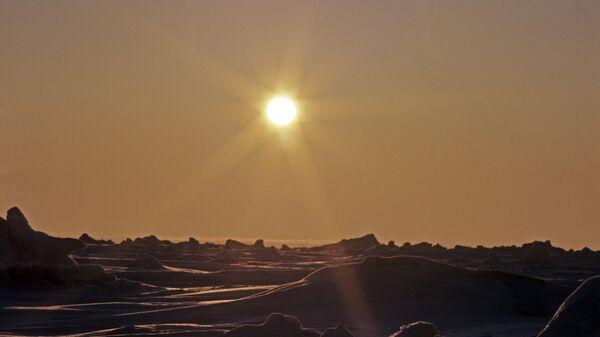Вид на мысе Челюскина. Полуостров Таймыр