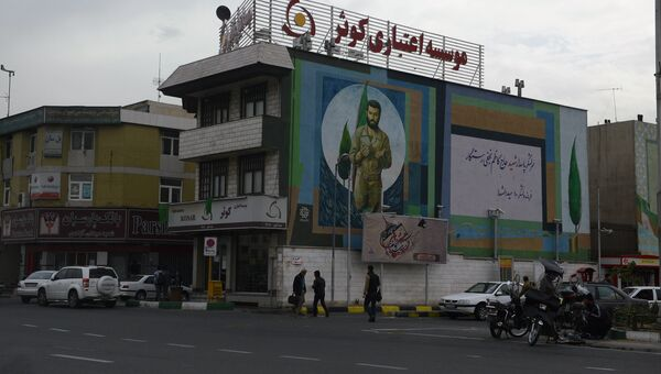 На одной из улиц Тегерана. Архивное фото